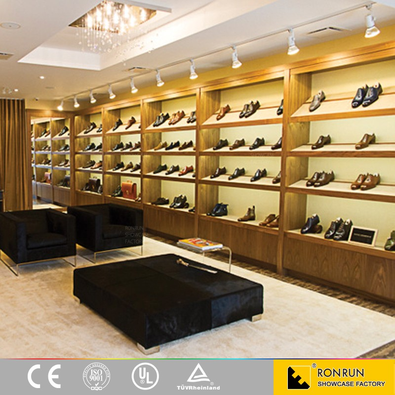 Luxury Shoe Interior Decoration Design Shoes Display Cabinet Shoe ...