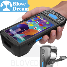 Built-in Portable Printer android terminal barcode scanner sim card android pos terminal