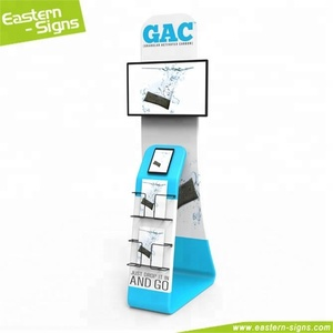 Chinese wholesale tension fabric display trade show pamphlet display rack