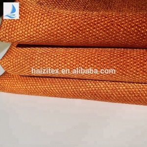 wholesale china suppliers new cheap polyester fabric material for laundry bag dot pattern hemp fabric for school bag fabric