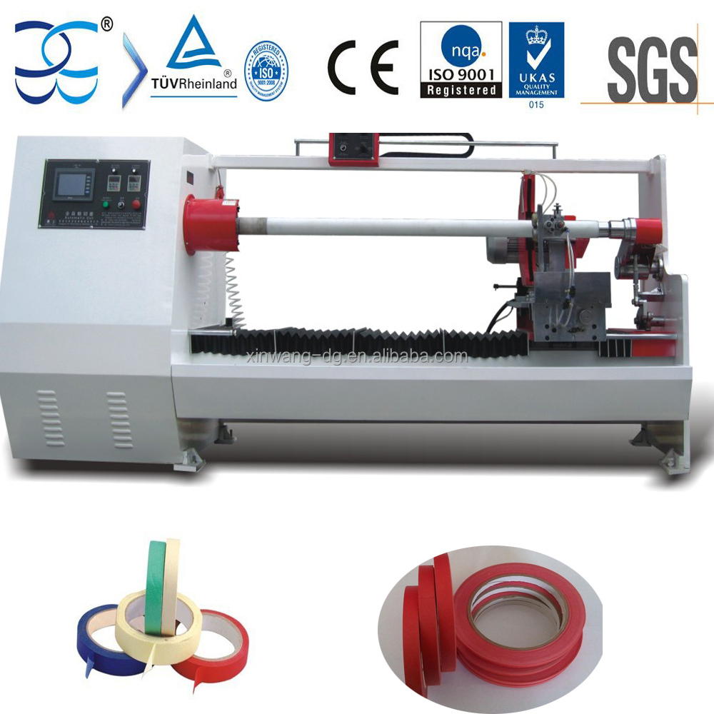 Crepe Paper Masking Tape Automatic Cutting Machine