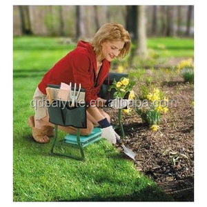 Garden Kneeler Seat Yard Gardening Tool Pad Folding Kneeling Cushion Bench NEW