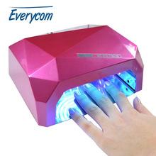 Professional 100v 240v 18w LED Nail Gel Curing UV Light Lamp for Manicure Salon EU US