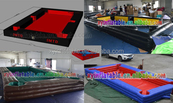 inflatable human pool table for snookers - buy human pool table