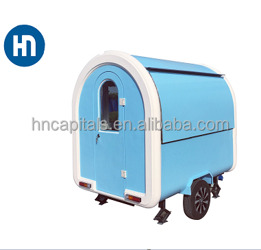 Hot sale smart small food carts/street mobile fast food trailers
