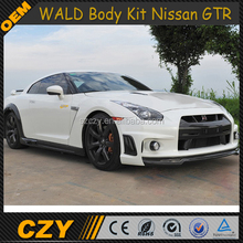 Skyline Wald Style FRP Auto Body Kit for NISSA N GTR 2010