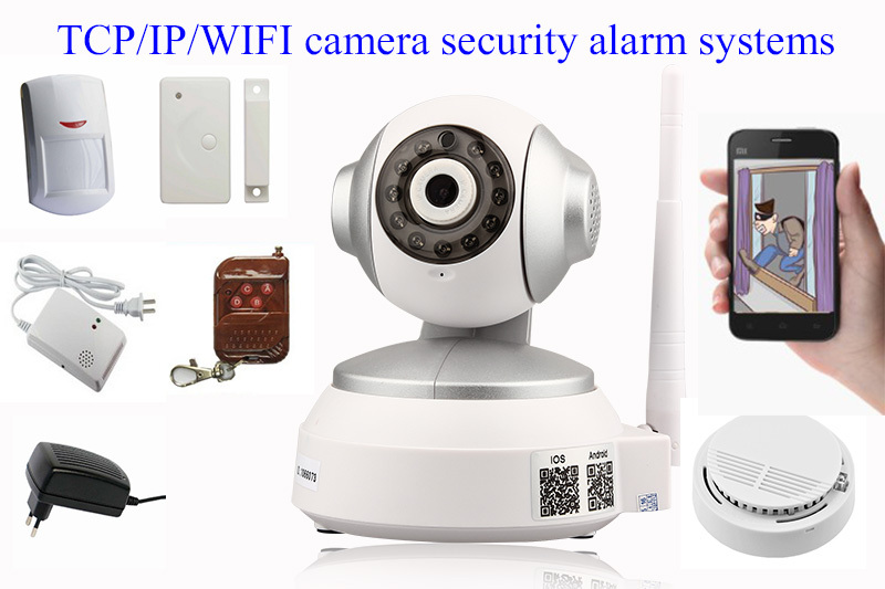 Ip Camera Home Security Alarm Systems,Cctv Camera With Fire Alarm And Pir  Sensor - Buy Cctv Ip Camera Alarm System,Cctv Ip Camera Alarm Systems,Ip