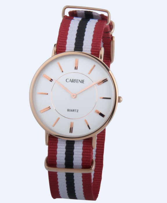 China wholesale alibaba supplier brand men's watch with nylon band simple design