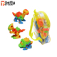 Sliding plastic diy educational gift take apart dinosaur toy for children