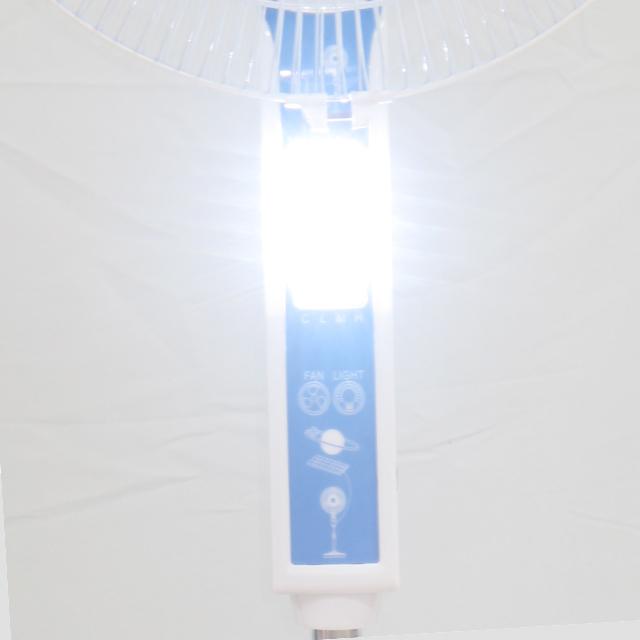 12 볼트 충전식 리튬 배터리 슈퍼 아이스 냉각 팬 LED 모바일 USB