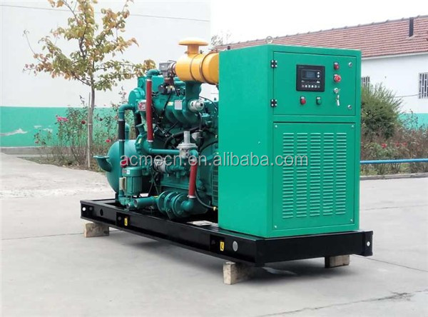 100kw biogas/ gas generator sets equipment price