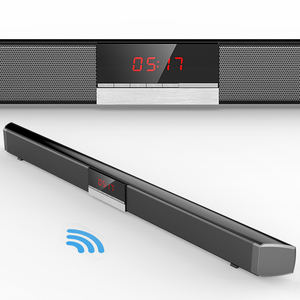 Factory supply wall mounted PVC highlight home theater system blue tooth wireless sound bar speaker with remote control