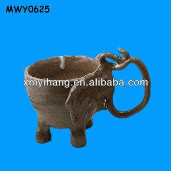 Funny elephant ceramic animal shaped mugs buy animal for Funny shaped mugs