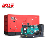 Aosif manufactory Silent/Open Diesel generator set with Cummins/Perkins/Doosan engine