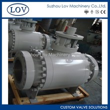 Widely Used Trunnion Mounted Ball Valve Picture