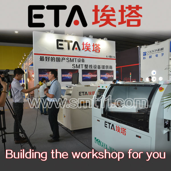 ETA (A800) PCB Soldering Machine Lead Free Reflow Oven SMT Assembly Line Machines 45