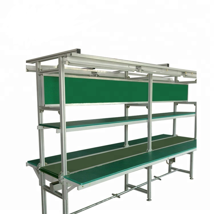ETA LED Mobile Phone TV Assembly Line Conveyor Belt Production Line With Low Price