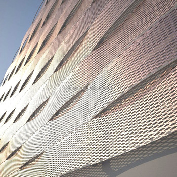 Expanded Metal Mesh Facade Cladding Buy Expanded Metal