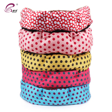 Wholesale Round Pet Dog Sofa Bed With Color Dot