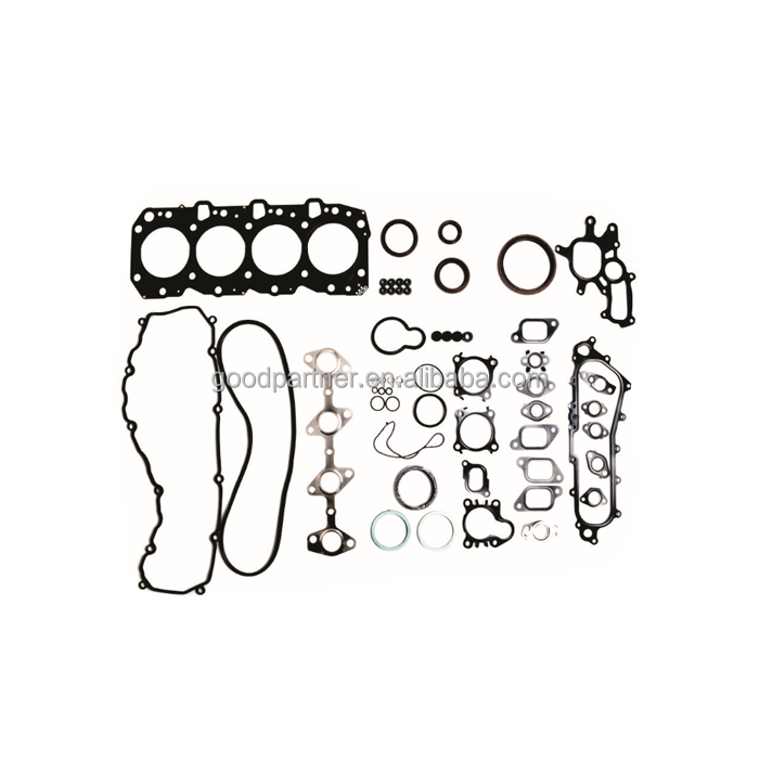 1KZ 1KZT 1KZTE Engine Full gasket set kit for Toyota 4 Runner Land cruiser/90/Prado Hi-lux 2982cc 8v 3.0 TD 04111-67025