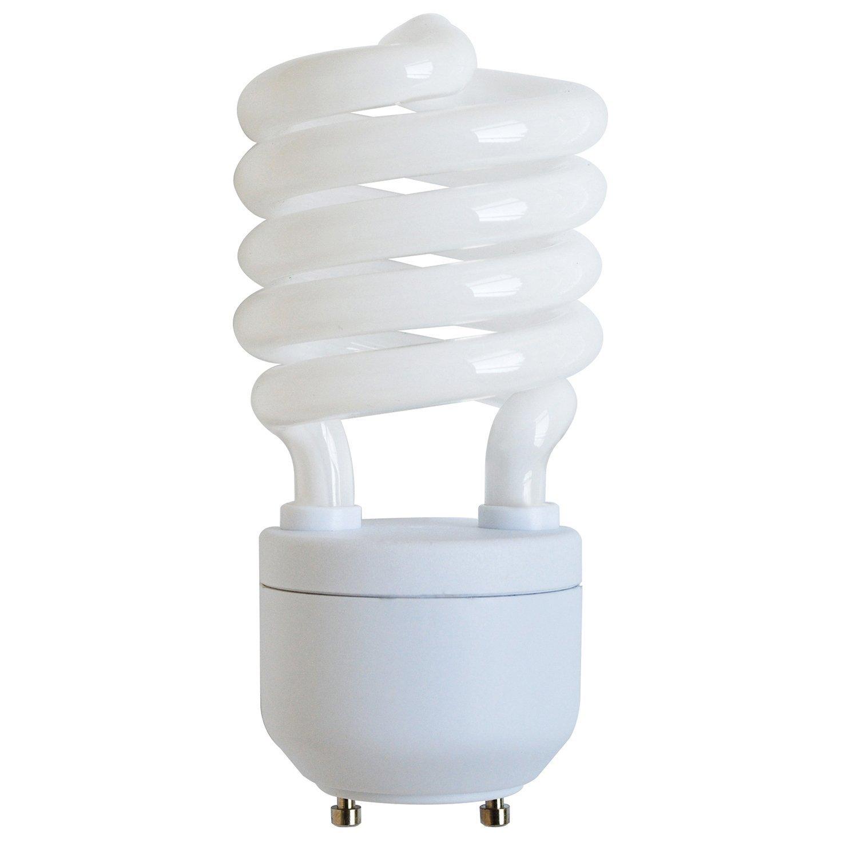 Sunlite SL27/GU24/27K SL27/GU24/27K 27-watt GU24 Spiral Energy Saving GU24 Base CFL Light Bulb, Warm White