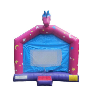 Simple and durable durable unicorn bouncy castle lion inflatable bounce house for kids,jumper inflatable amused for sale