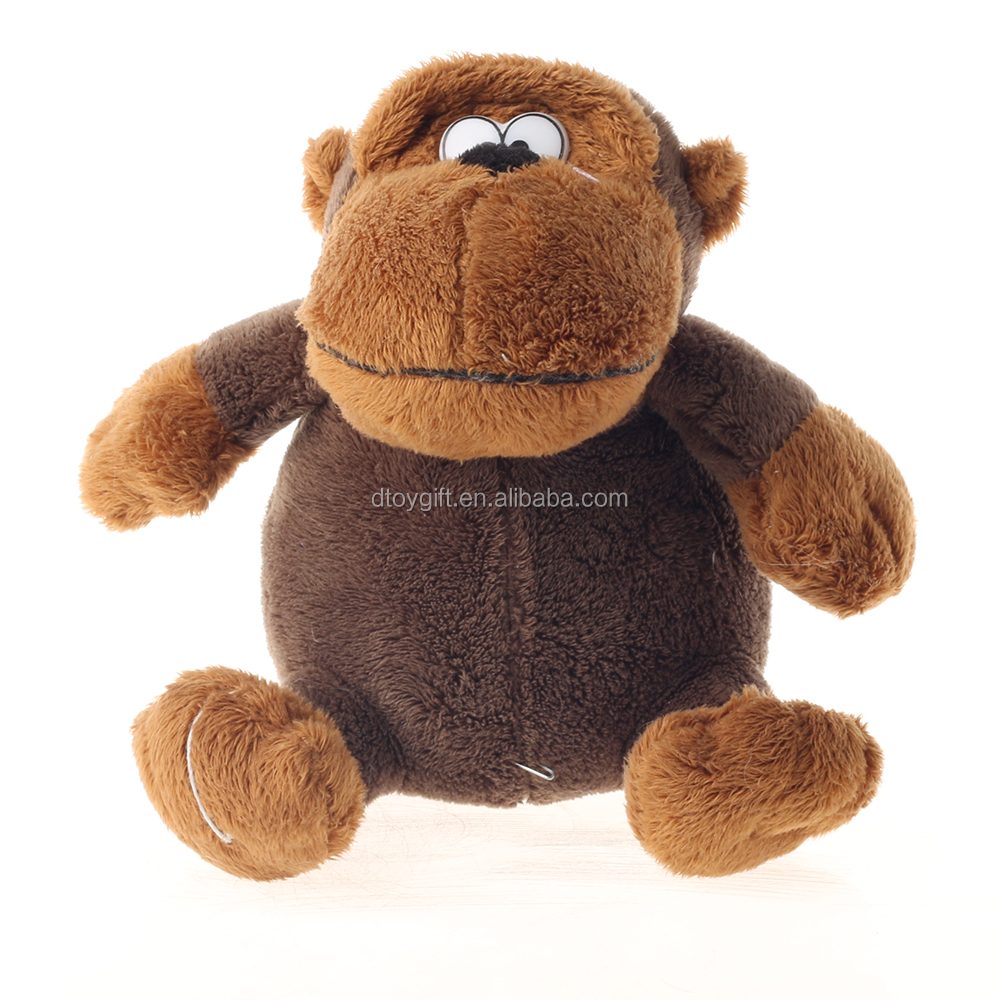 Factory Direct Sale Funny Plush Big Mouth Monkey Stuffed Monkey Toy