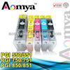 Aomya new products refillable ink cartridge with chip PGI550 use for CANON IP7250 MG5450 MG6350