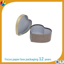heart shape cardboard box gift packaging supplies