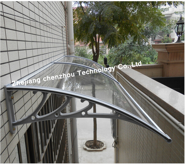 2015 New Style Canopy Front Door Rain Cover Plastic Awning