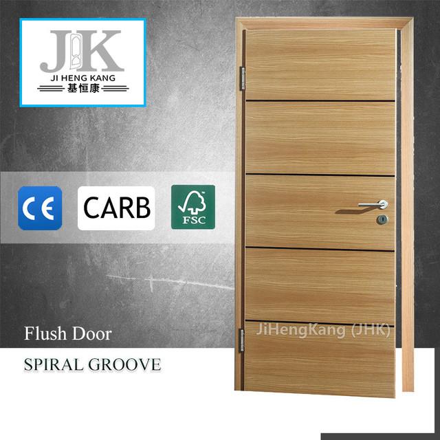 JHK Flush Wood Door In Malaysia Classroom Interior Wooden Door Unfinished  Wood Doors