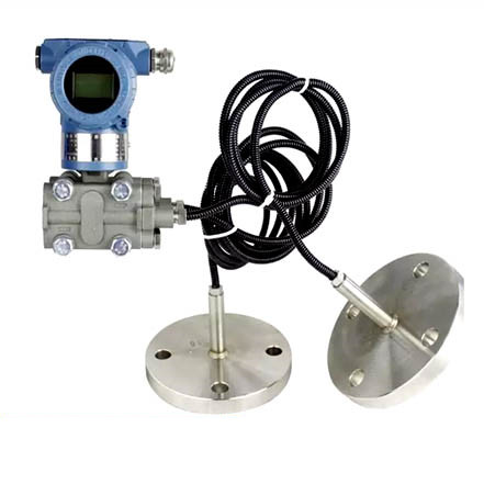 Flange remote control differential pressure level transmitter