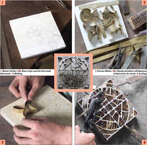 Different Handmade Encaustic Cement Floor Hand Painted