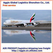 cheap air freight from China to South Africa for nail art sequins air logistics
