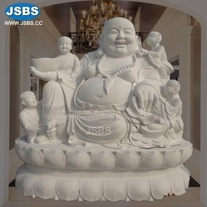 Hot Selling Beautiful Stone Carved Outdoor or Indoor Marble Buddha Statue