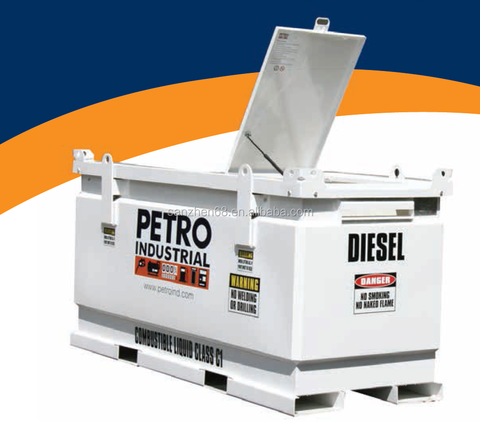 Anti-explosion portable fuel station Mobile Station/skid-mounted Gas Station For Exporting with ISO certification