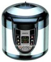 4L electric food maker automatic pressure cooker YBW40-80C with rice /meat/congee/tendon/frying/cake..functions
