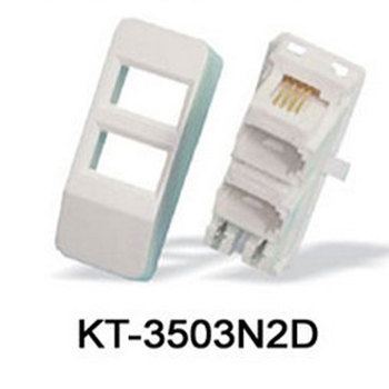 Kt 3503n2d Uk Telephone Double Outlet Adaptor With Idc Terminal Buy Analog Telephone Adaptor Uk Telephone Adaptor Voip Analog Telephone Adaptor