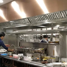 Commercial kitchen Exhaust hood and kitchen Exhaust range hoodfor restaurant