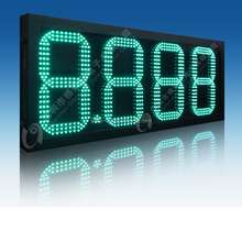 glareled digital price display boards gas station signage led fuel price display