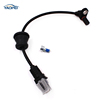 Free Shipping ABS Wheel Speed Sensor Front Right / Left 96626078 ALS1748 5S8403 For Chevrolet Pontiac Saturn Vue