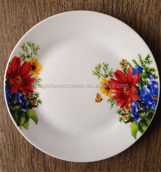 unbreakable microwave safe dishes  porcelain plate  vietnam ceramic manufacturers of plates : plates ceramic - pezcame.com