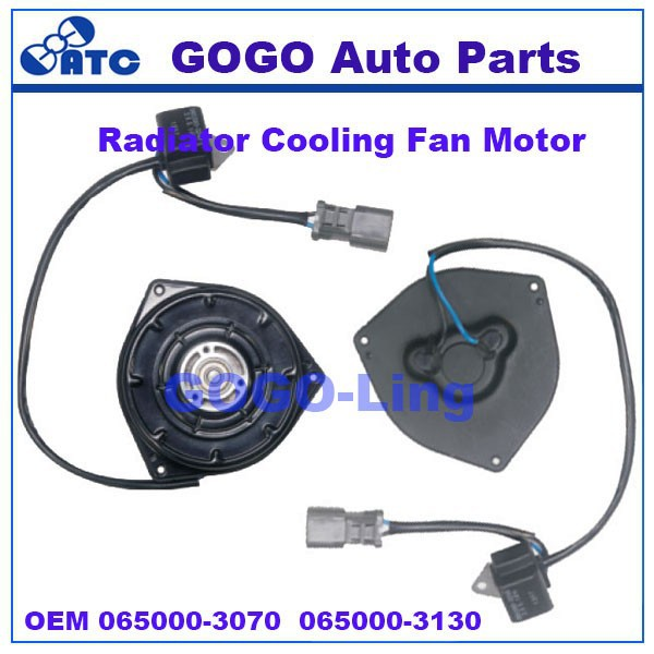 GOGO CAR Radiator Fan Motor for Honda accord 2.3L OEM 065000-3070 065000-3130