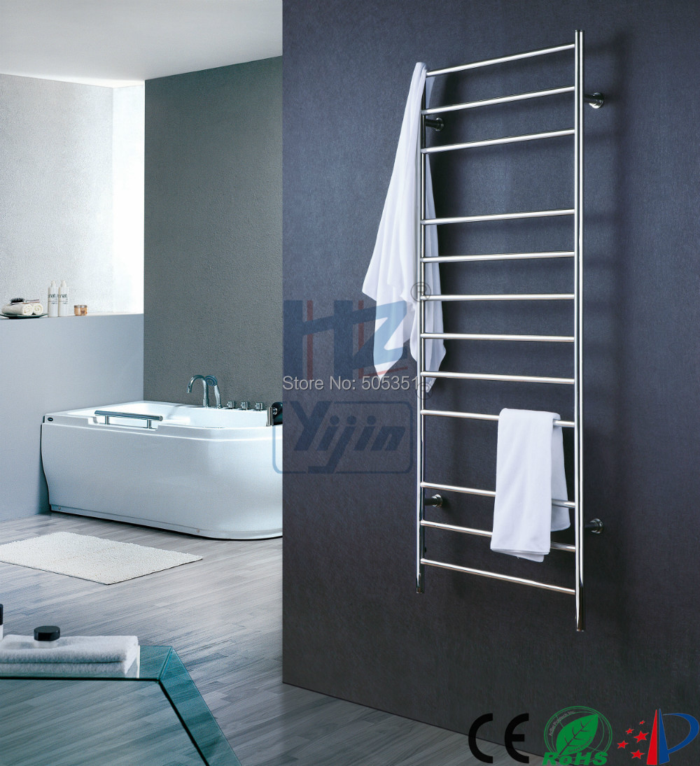 Tall Wall Mounted Stainless Steel Towel Warmer Heated