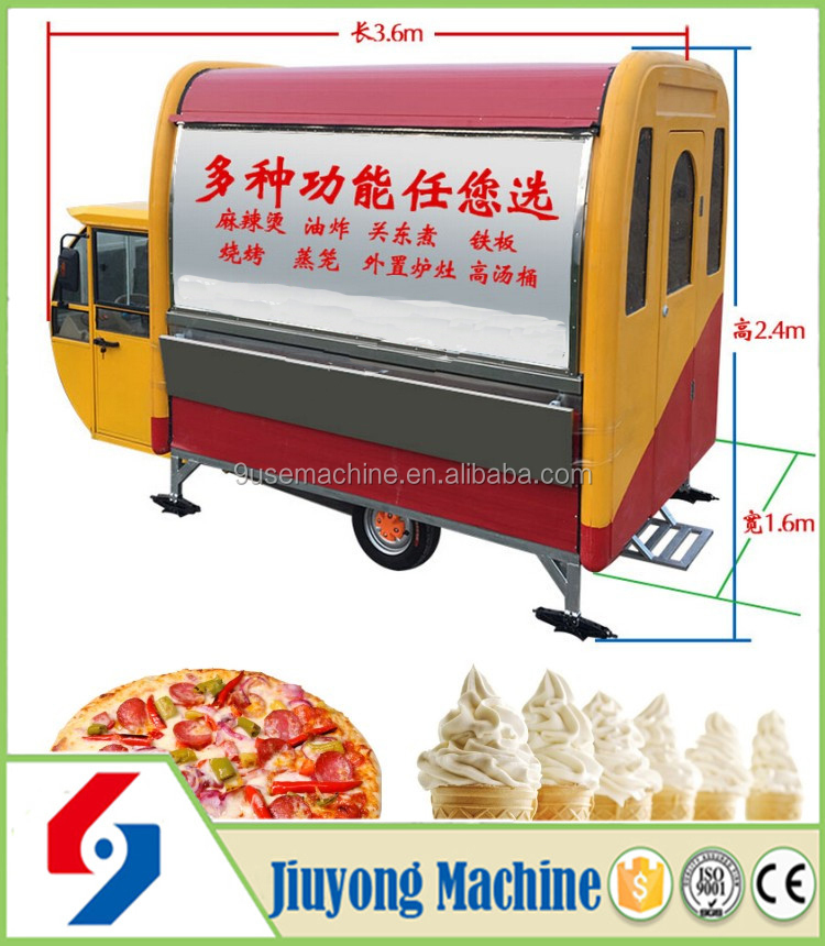 Oem Larger Capacity Electric Tricycle Food Cart Buy Electric Tricycle Food Cart Stainless Food