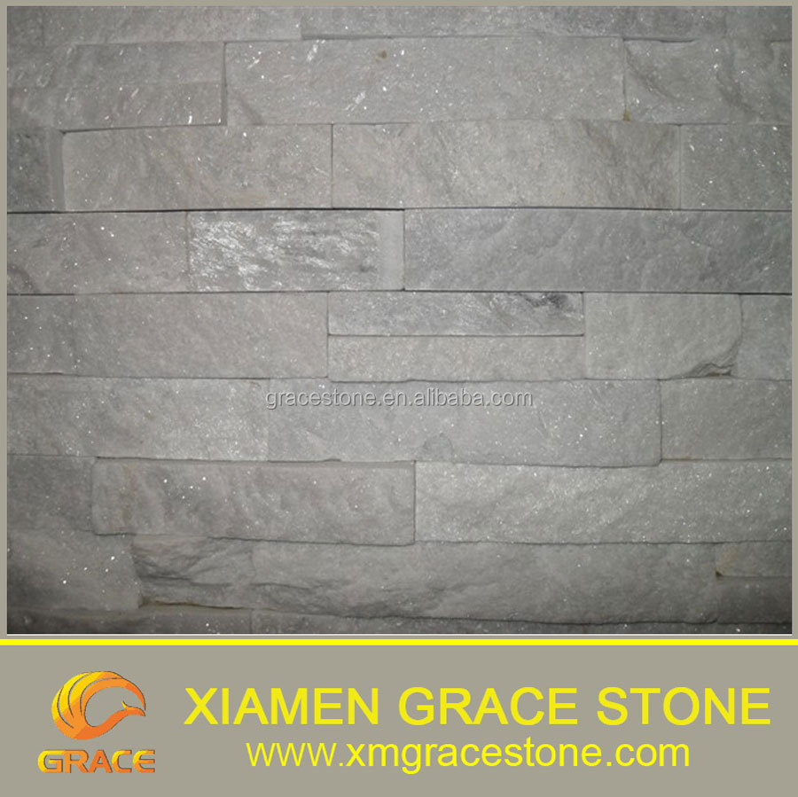 White Culture Slate stone tile , Slate Pieces for Landscaping