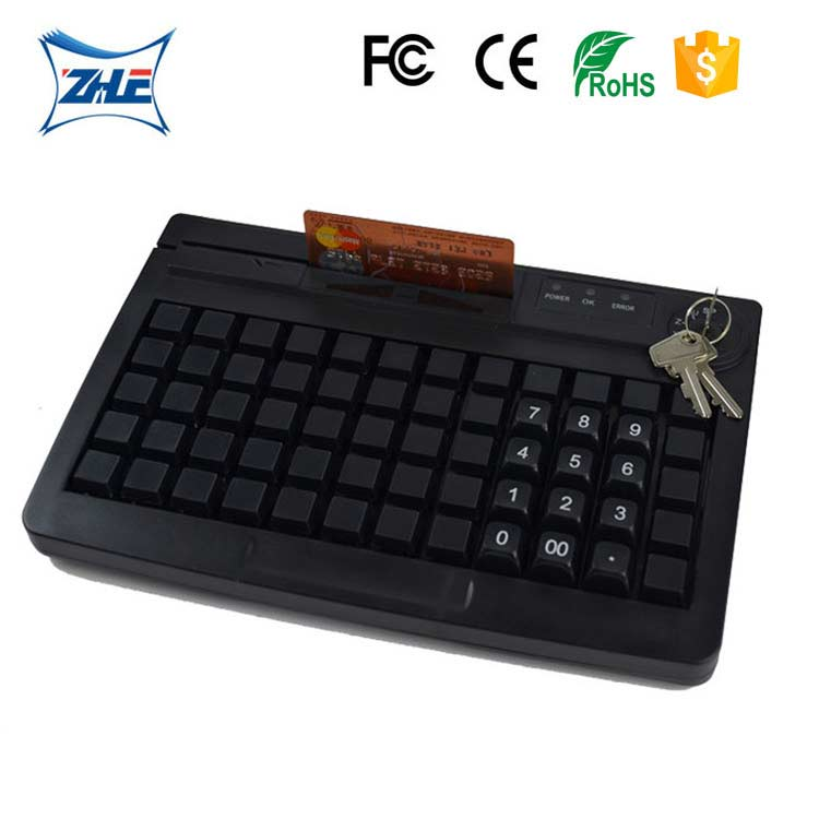 cheap led display accessories portable pos stand programmable keyboard