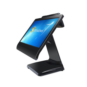 Cash Register 15.6inch restaurant Capacitive touch screen J1900 cpu pos