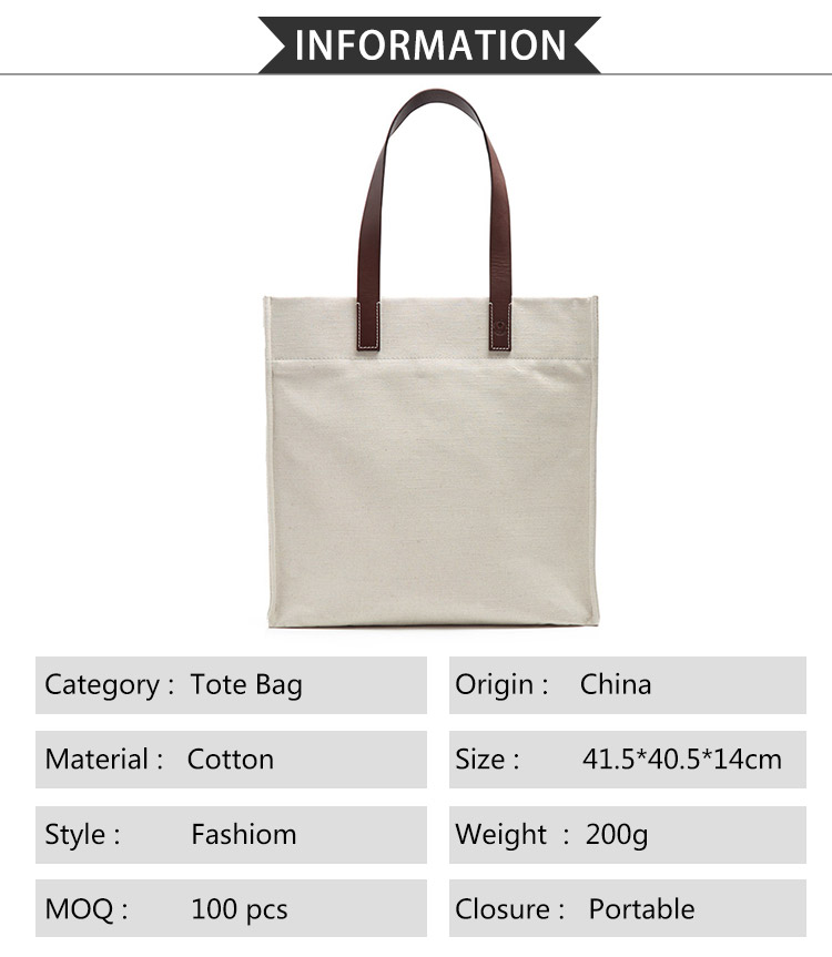 Wholesale Travel Custom Printed  Promotional Women Reusable Handbags  Cotton Canvas  Pouch Shopping Tote Handbags