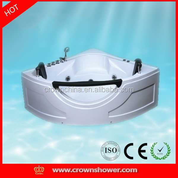 2014 New design indoor portable massage bathtub cheap cast iron bath tub